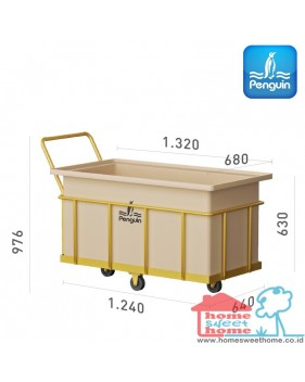 Bak Serbaguna Penguin Rectangular-Open Top Tank BT 50