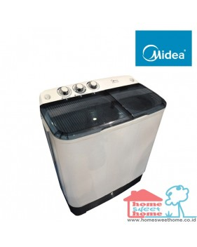 mesin cuci midea twin tube (6.0 KG)