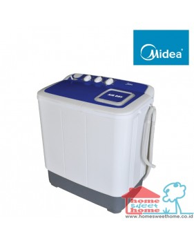 mesin cuci midea twin tube (8 kg)