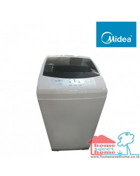 midea mesin cuci top loading (6.5kg)