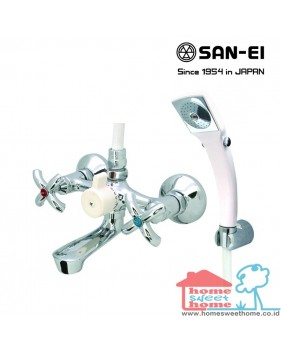 Bath Mixer with Shower Set San-Ei SK30P