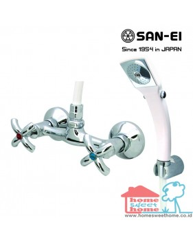 Bath Mixer with Shower Set San-Ei SK35P