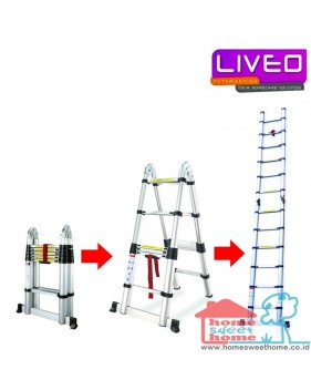 Liveo LV 222 Magic Telescopic Tangga Lipat