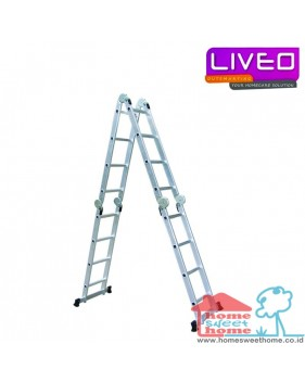 Liveo LV 604 Multi Purpose Ladder (4,4m)