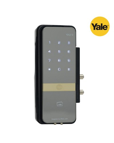 Yale Digital Door Lock YDG313 Glass