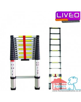 Liveo LV 202 Tangga Single Telescopic Ladder (3.8 m)