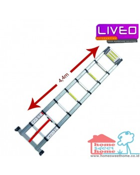 Liveo LV 203 single telescopic ladder