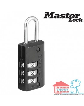 Master Lock Black Finish tipe 621DBLK
