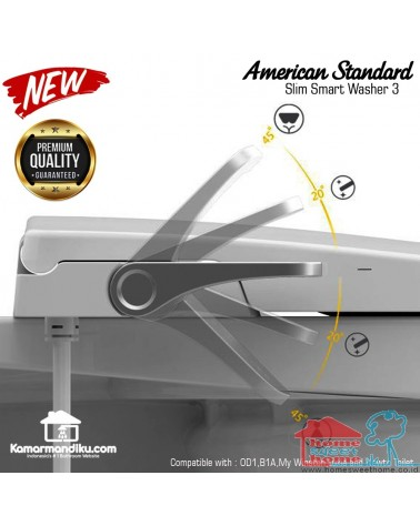 American Standard seat cover slim smart washer 3