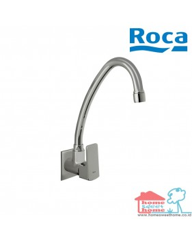 Roca Escuadra Wall Mounted Sink Tap