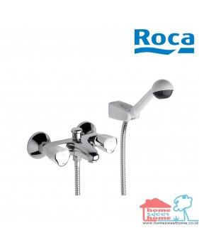 Roca Brava Wall Mounted Bath Shower Mixer