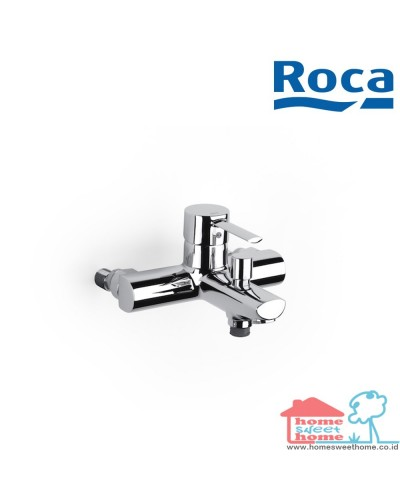 Roca Keran Targa Wall Mounted Bath Shower Mixer