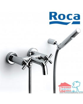 Roca Keran Loft Wall Mounted Bath Shower Mixer