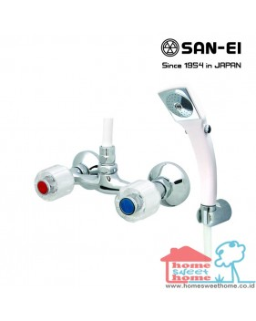 Bath Mixer with Shower Set San-Ei SK35C