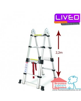 LIVEO LV 223 Magic TELESCOPIC LADDER (4,4 M)