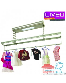 Liveo GW886 jemuran langit langit lifting electric