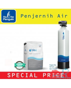 Penguin penjernih Filter air Auto Backwash Free instalasi FRP1035 Asli